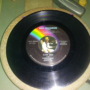 Mr. Reginald DeWhite...On 45 RPM Vinyl - Music Memorabilia