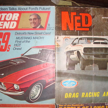 old magazines  - Paper