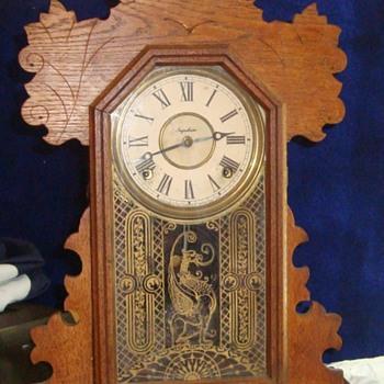 Ingraham Clock from Early 20th Century.