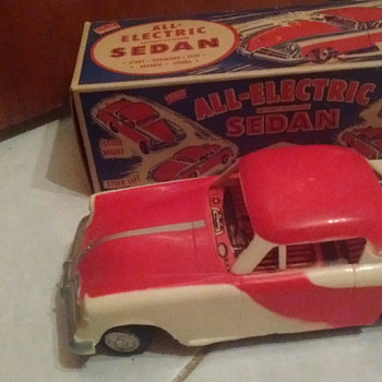 All-Electric Sedan Made by Irwin - Toys