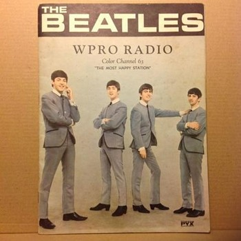 Beatles book -WPRO -Providence R.I.- 1964.