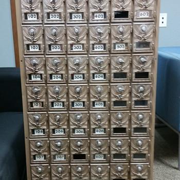 Pre WW2 Post Office box
