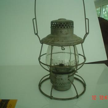 Monon railroad lantern - Lamps