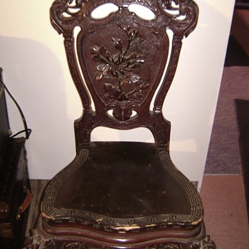 Unknown Carved Chair - Furniture