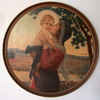 Framed Madonna and Infant wall print
