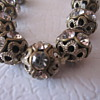 Vintage Rhinestone Costume Jewelry Necklace