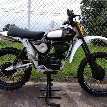 My 1975 Husqvarna 400wr resto-mod - Motorcycles