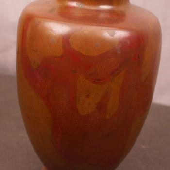 Arts & Crafts Bronze Vase  - Arts and Crafts