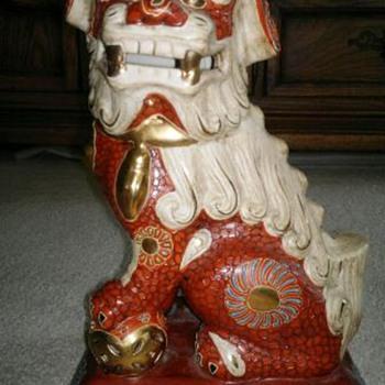 Large Asian   Guard Dog - Asian