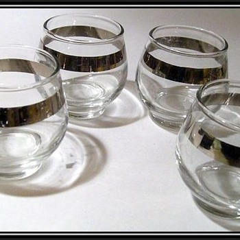 Libbey Glass - Roly Poly Type ( Low Ball glasses )  - Glassware