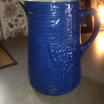 Grandmothers stoneware milk pitcher  - China and Dinnerware
