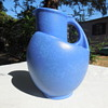 Possible Red Wing or Rum Rill Dutch Blue Pitcher/Vase