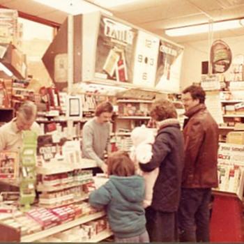 Leo Matus Newsstand, wilkes-Barre, PA - Photographs