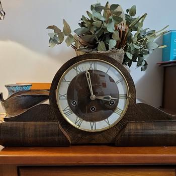 German 50s Mantle Clock - Clocks