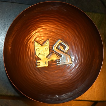 Vichy - Sterling .925 - Peru - Small Bowl - Silver
