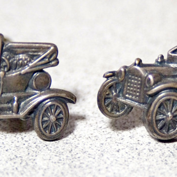 Ford Model T Cufflinks Vintage? - Fine Jewelry