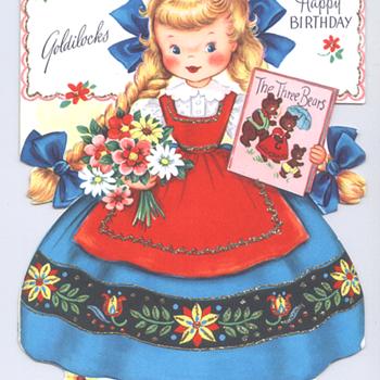 Golidlocks | Fairfield Birthday Story Card