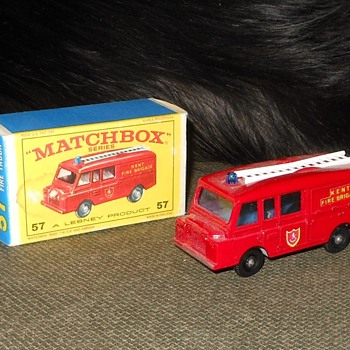 Methodical Matchbox Monday Madness MB 57 Land Rover Firetruck - Model Cars