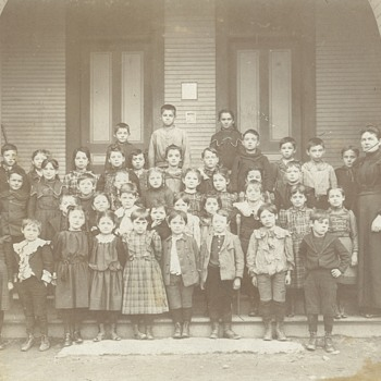 1899 Primary School Class Photo  - Photographs