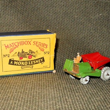 Mighty Miniature Matchbox Monday Muir-Hill Dumper MB 2-A 1954-1956 - Model Cars