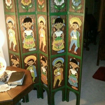 carved room divider - Furniture