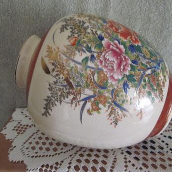 Royal Satsuma Porcelain Vase Mfg Japan - Asian