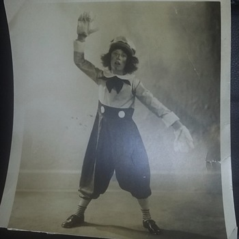 Picture of Raggedy Andy black and white circa 1929