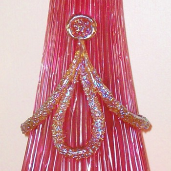 Loetz Pink Empire Vase - Art Glass