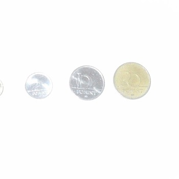 Hungarian coins - World Coins