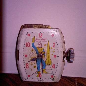 rocky jones space ranger - Wristwatches