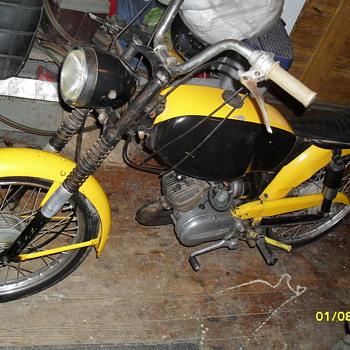 1966 harley davidson m50 - Motorcycles