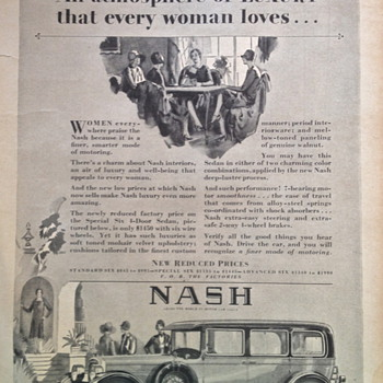 Nash Advertisement - Advertising