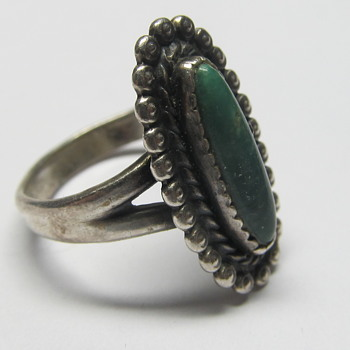 Native American Ring Hallmarked with TeePee