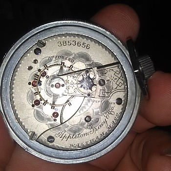 1889 Waltham pocket watch