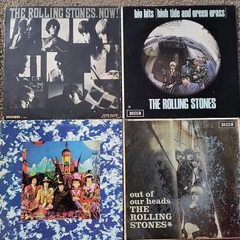 The Rolling Stones LP's (4) - Records