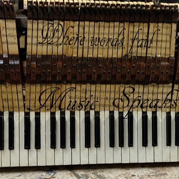 Piano key board  - Musical Instruments