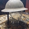 World War 1 helmet