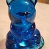 Blue Glass Bear