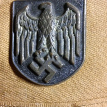 WWII hat? - Military and Wartime