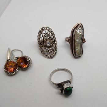 Sterling silver finds - Fine Jewelry