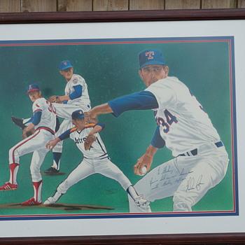 Nolan Ryan Autographed Picture - Baseball