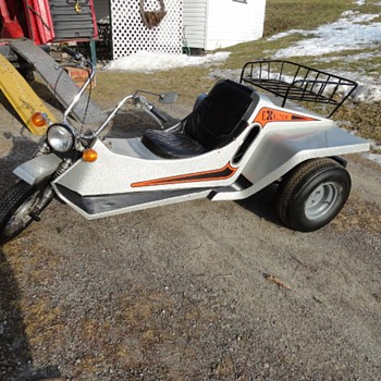 1970's BDI Owosso Explorer Corp. Exalter Street Legal Trike