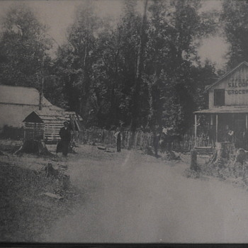 Home town - picture in 1890 - Photographs