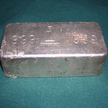 .999 Silver Bar - Gold