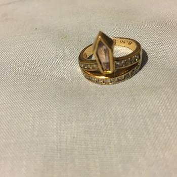 Art Deco type ring