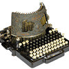 Bar-Lock typewriter - 1892