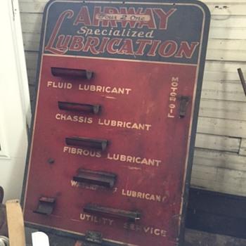 Airway Lubrication Motor Oils - Advertising