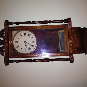 My dad left these clocks to me 15 yr ago any idea of there worth - Clocks