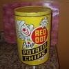 red dot potato chip tin