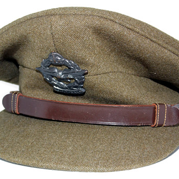 World War Two South African Air Force Officer's viser cap - Military and Wartime